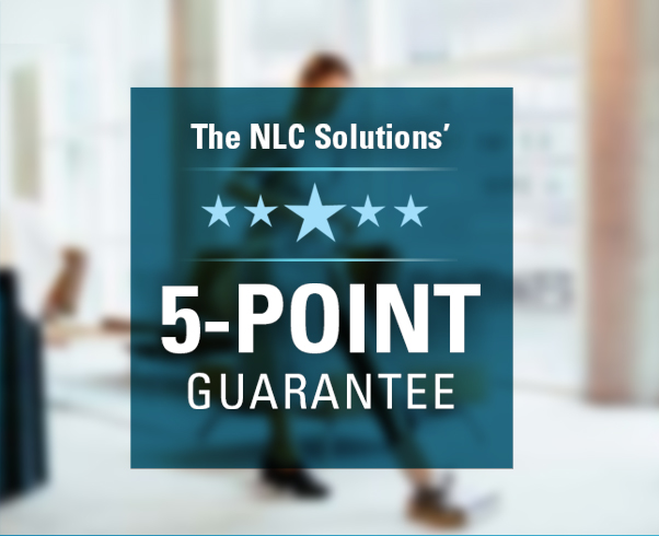 5-Point Office Cleaning Guarantee